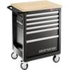 Heavy Duty Chrono.6M3 tool trolley, 6 drawers