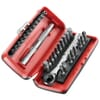 """RPEJ31 Compact ratchet wrench + inserts assortment 1/4"""""""