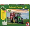 SH56043 puzzle, John Deere 8370R with original tractor from Siku