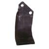 Rotovator blade RH 190x135x80mm 7mm thick Kuhn