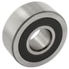Track roller bearing, double-row, with convex outer casing