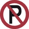 Safety signs, No parking