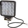 Work light LED, 25W, 3040lm, square, 10/30V, 108x48x108mm, Flood, 16 LED's, Kramp