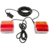 Light set LED mountable 7.5 meter cable