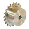 "Kettingwielen voorgeboord - BS / DIN 8187 - simplex 1"" x 17,02mm - RVS 304"