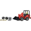 U02191 Schäffer 2034 Compact loader with play figure and accessories