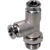 Insteekkoppeling L - cilindrische buitendraad, zwenkbaar - type TCSC..B