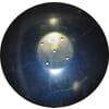 Lautanen, sielä, kupera, 460 x 4 mm, LK120, sopii Amazone