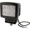Work light LED, 60W, 5400lm, square, 10/30V, 135x124mm, Flood, 6 LED's, Kramp