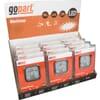 Work light LED 12pc kit, 15W, 900lm, square, 10-30V, 83x38x83mm, Flood, gopart