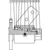 Uloženie diskových brán, 5 otvorov (od 03-2001 do 2005) Vario-Disk