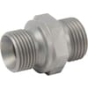 +Male stud coupling less nut GES