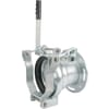 Female 6'' flanged with quick release + 0° - 45° revolving + adjustable fork Perrot