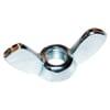 DIN 315 wing nuts, metric steel zinc-plated, American model