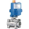 BLV...SS ACT electric actuated 2way screwed connection stainless steel body ball valves