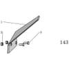 12 Couteau élargisseur de sillon