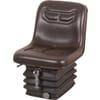 PVC seat, mechanically sprung TS41000GP