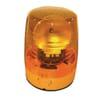 Rotating beacon Halogen, 12/24V, housing: yellow, bolt on, Ø 147mm x190.5mm, JuniorPlus by Hella