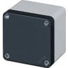 Aluminium enclosures without cable entry