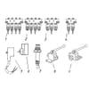 Becker Aeromat E-motion-12 - Bloc de soupapes hydraulique pour marqueur et châssis rabattable