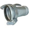 Female coupling c/w threaded hose tail Perrot
