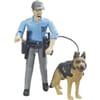 U62150 Policeman with dog