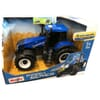 New Holland tractor - utility series motor sound, lights, drive