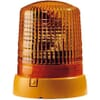 Zwaailamp halogeen, rond, 12 V, amber, gele behuizing, vaste montage, Ø 155 mm x 194 mm, KL 7000 Hella