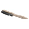 Wire Brush, with beech wood handle