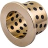 Bearing bush with collar,series BB-BMF