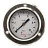 Stainless steel pressure gauge assembly, 63 mm, filled with glycerine