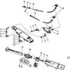 15 Dispositif de réglage hydraulique du premier sillon BX