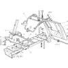 Rahmensatz für Castelgarden TYP F72-F72 Hydro - Baujahr 2004