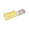 Flat tongue spade connector yellow 4.0-6.0mm²