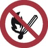 Safety signs, No fire _