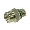 Stainless steel male stud coupling GES-BSP-WD