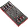 MODM.ATXR module with Protwist® screwdrivers in foam packaging