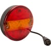Multifunctional rear lamp LED - 2m wire with 5 pin 50mm high