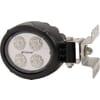 Work light LED, 18W, 1500lm, round, 10/30V, Ø 117mm Deutsch plug, Flood, 4 LED's, Kramp