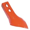 Culitivator point 235x90x7mm 2 hole