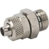 Push-on coupler parallel with o-ring type SCPOP..