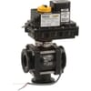 Banjo Electric Ball Valve - 3 way (with flange couplings)
