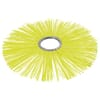 Rotary brush 380/110 poly yellow