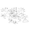 Schneidwerkzeug - Mähdeck für ALKO TYP PowerLine T13-102SP