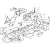Rahmensatz für Castelgarden TYP 102-122 / 102-122 Hydro - Bj. 2002