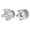 Spidex koppelingshelft aluminium