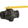 Banjo 2-way ball valves, outer thread / Camlock male, short model