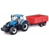 New Holland T7.315 Traktor mit Mulde