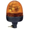 Rotating beacon Halogen, round, 12V, amber, pole mount, Ø 135mm x217mm, Rota Compact by Hella