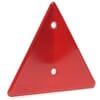 Refleks, trekantet, plast, 150x150x150 mm